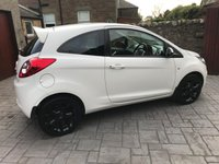 USED 2016 16 FORD KA 1.2 ZETEC WHITE EDITION 3d 69 BHP 1 OWNER + FULL SERVICE HISTORY + £30 ROAD TAX + BLUETOOTH