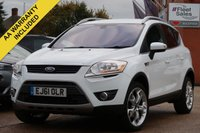 USED 2011 61 FORD KUGA 2.0 TITANIUM TDCI AWD 5d 163 BHP 3 MONTHS AA WARRANTY , AWD, AUTO HEADLIGHTS