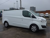 USED 2016 16 FORD TRANSIT CUSTOM 2.2 290 LIMITED LOW ROOF, 124 BHP [EURO 5]
