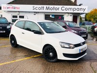 2013 VOLKSWAGEN POLO 1.2 S 3 door £4199.00
