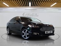 """USED 2017 17 FORD MONDEO 2.0 TITANIUM TDCI 5d AUTO 177 BHP **FREE FROM ULEZ CHARGE** Sat Nav 