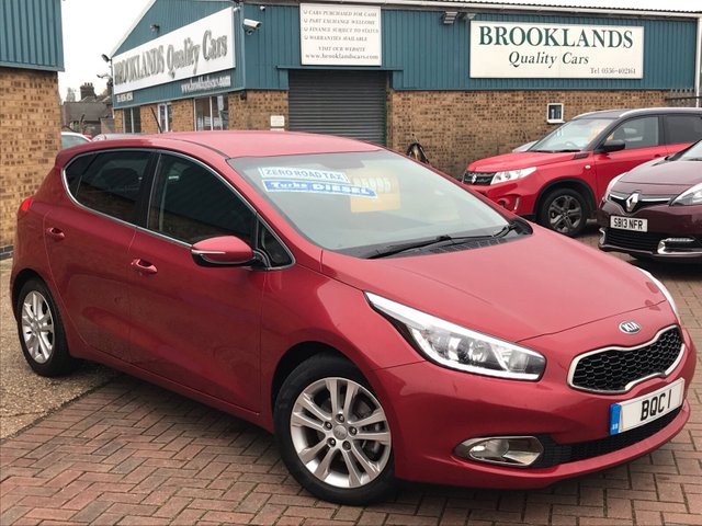 USED 2012 62 KIA CEED 1.6 CRDI 3 ECODYNAMICS 5d 126 BHP Huge Spec Sat Nav Bluetooth Reverse Camera Alloy Wheels