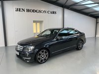 USED 2013 63 MERCEDES-BENZ C CLASS 2.1 C250 CDI BLUEEFFICIENCY AMG SPORT PLUS 4d AUTO 202 BHP 1/2 heated leather! Bluetooth! Park assist!