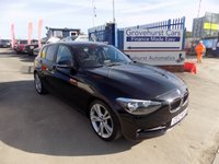 USED 2012 12 BMW 1 SERIES 2.0 118D SPORT 5d 141 BHP