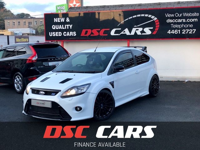 2010 10 FORD FOCUS 2.5 RS 3dr MK2 **LOTS OF WORK DONE**