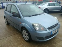 USED 2006 56 FORD FIESTA 1.2 STYLE CLIMATE 16V 5d  MOT SERVICE WARRANTY  Full Service History | Cambelt Done In 2014 | 1 Owner From New | MOT | Service | Warranty