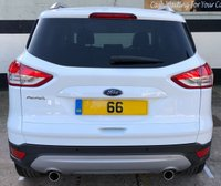 USED 2016 66 FORD KUGA TITANIUM X SPORT 2.0 TDCI 5DR 180 BHP 4X4, 1 OWNER, PAN ROOF HEATED LEATHER, SAT NAV & FRONT/REAR SENSORS