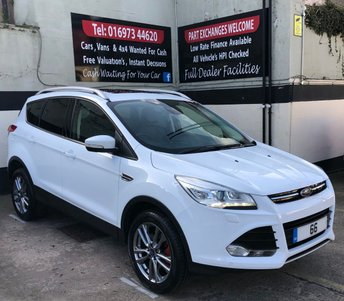 2016 FORD KUGA TITANIUM X SPORT 2.0 TDCI 5DR 180 BHP 4X4, 1 OWNER FROM NEW £15950.00