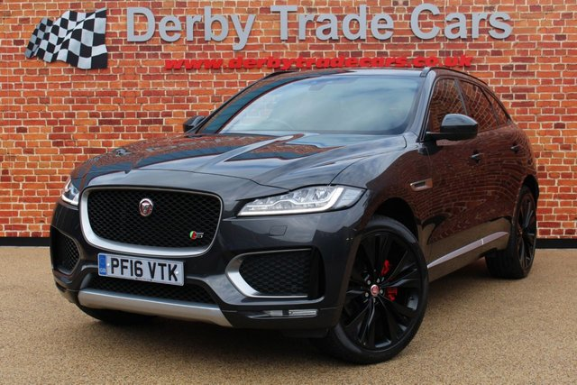 JAGUAR F-PACE at Derby Trade Cars