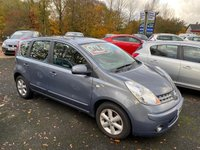 2008 NISSAN NOTE 1.4 ACENTA 5d 88 BHP £2650.00