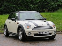 2007 MINI HATCH COOPER 1.6 COOPER 3d 118 BHP £2490.00