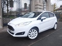 USED 2015 15 FORD FIESTA 1.0 TITANIUM 5d 124 BHP *FINANCE ARRANGED*PART EXCHANGE WELCOME*£0 TAX*DAB*CRUISE*AUTO LIGHTS*SERVICE HISTORY*FOLDING MIRRORS*USB