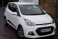 USED 2014 64 HYUNDAI I10 1.2 PREMIUM 5d 86 BHP One Former Owner ONLY 20k