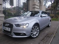 USED 2015 15 AUDI A4 2.0 TDI SE TECHNIK 4d 174 BHP *FINANCE ARRANGED*PART EXCHANGE WELCOME*£30 TAX*FULL LEATHER*CRUISE*AC*BLUETOOTH*DAB*F+R PARKING SENSORS