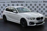 USED 2016 07 BMW 1 SERIES 1.5 116D M SPORT 3d 114 BHP BLACK PACK