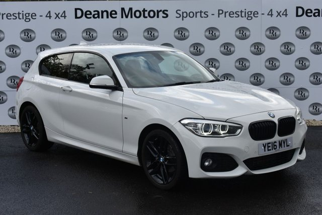 2016 07 BMW 1 SERIES 1.5 116D M SPORT 3d 114 BHP BLACK PACK