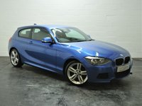 USED 2014 64 BMW 1 SERIES 2.0 116D M SPORT 3d 114 BHP 1 OWNER + BMW HISTORY + BLUETOOTH + DAB RADIO
