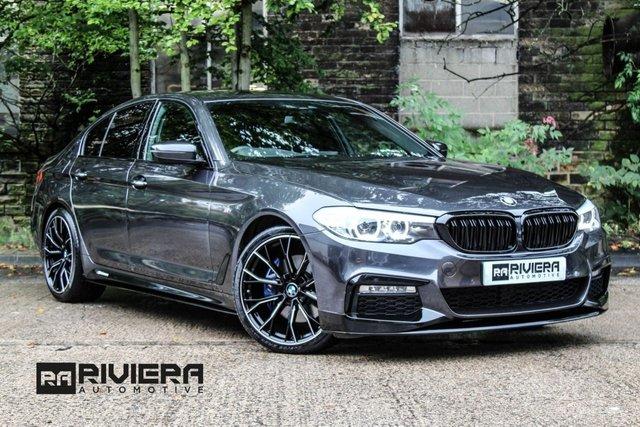2017 17 BMW 5 SERIES 3.0 530D XDRIVE M SPORT 4d AUTO 261 BHP