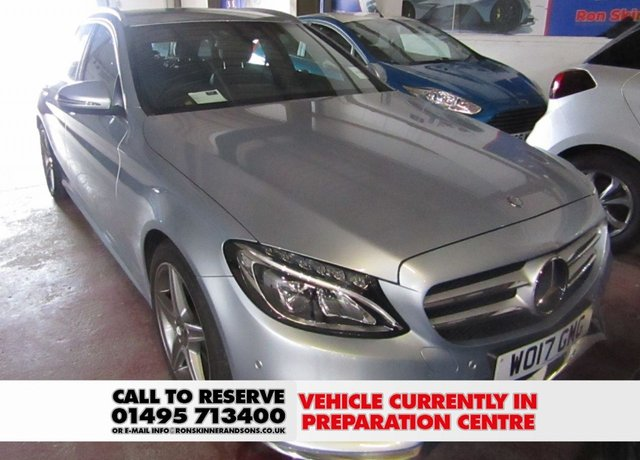 View our 2017 17 MERCEDES-BENZ C-CLASS 2.1 C 220 D AMG LINE 5d AUTO 170 BHP