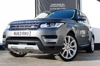 USED 2014 63 LAND ROVER RANGE ROVER SPORT 3.0 SDV6 HSE 5d AUTO 288 BHP