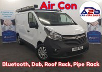 USED 2015 15 VAUXHALL VIVARO 1.6 2700  CDTI Air Con, Bluetooth, Dab Radio, Roof Rack, Pipe Tube, and lots more... ** Drive Away Today** Over The Phone Low Rate Finance Available, Just Call us on 01709 866668 **