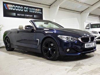 2016 BMW 4 SERIES 2.0 420D SPORT 2d AUTO 188 BHP £18880.00