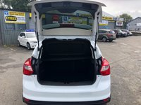 USED 2012 62 FORD FOCUS 1.0 ZETEC 5d 99 BHP IN METALLIC WHITE WITH 71000 MILES, FULL SERVICE HISTORY, A GREAT SPEC AND IS ULEZ COMPLIANT Approved Cars are pleased to offer this stunning white 2012 Ford Focus 1.0L Zetec with only 71000 miles. This is an ideal budget friendly family car with a 1.0L petrol engine it is very economical to run. It has been extremely well looked after with a full service history. It has a great spec including Bluetooth, AUX and USB, heated seats, dual zone aircon, Isofix and much much more. For more information or to book a test drive please call our sales team on 01622 871555.