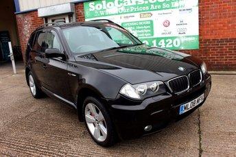 2008 BMW X3 2.0 D M SPORT 5d 175 BHP £4299.00