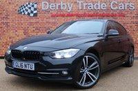 USED 2016 16 BMW 3 SERIES 2.0 330E SPORT 4d AUTO 181 BHP