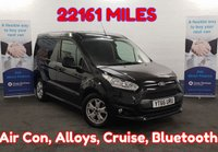 USED 2016 66 FORD TRANSIT CONNECT 1.5 200 LIMITED 120  BHP in Black, LOW MILEAGE 22121 Miles, EURO 6, Air Con, Alloys, Bluetooth, Cruise, 3 Seats, and much more........ ** Drive Away Today** Over The Phone Low Rate Finance Available, Just Call us on 01709 866668 **