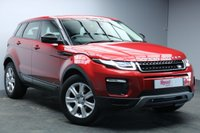 """USED 2016 66 LAND ROVER RANGE ROVER EVOQUE 2.0 ED4 SE TECH 5d 148 BHP 18""""ALLOYS+NAV+LEATHER+1 OWNER+FULL LAND ROVER SERVICE HISTORY+PARKING SENSOR+ELECTRIC FRONT SEATS"""