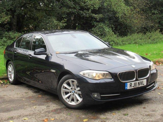 USED 2011 11 BMW 5 SERIES 2.0 520D SE 4d 181 BHP FULL HEATED LEATHER INTERIOR, SAT NAV