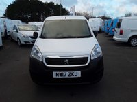 USED 2017 17 PEUGEOT PARTNER 1.6 BLUE HDI SE 100 BHP