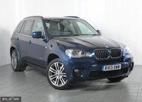 2013 BMW X5 3.0 XDRIVE30D M SPORT 5d AUTO 241 BHP £17401.00