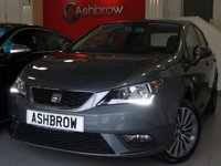USED 2016 66 SEAT IBIZA 1.0 SE TECHNOLOGY 5d 75 BHP £30 ROAD TAX (118 G/KM), 1 OWNER FROM NEW, FULL SERVICE HISTORY, UPGRADE 16 INCH DESIGN ALLOY WHEELS, UPGRADE SPACE SAVING SPARE + TOOLKIT, SAT NAV, FULL LINK FOR APPLE CARPLAY / ANDROID AUTO, DAB RADIO, BLUETOOTH PHONE & MUSIC STREAMING, AUX & USB INPUTS, MANUAL 5 SPEED, LED DAYTIME RUNNING LIGHTS, FRONT FOG LIGHTS, GREY CLOTH INTERIOR, LEATHER MULTIFUNCTION STEERING WHEEL, A/C, CD HIFI WITH 2x SD CARD READERS, ELEC WINDOWS, ELEC DOOR MIRRORS, TYRE PRESSURE MONITORING SYSTEM, VAT QUALIFYING.