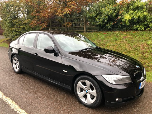 USED 2011 61 BMW 3 SERIES 2.0 320D EFFICIENTDYNAMICS 4d 161 BHP **NEW MOT**£20 A YEAR ROAD FUND**FULL SERVICE HISTORY**STUNNING CAR **.