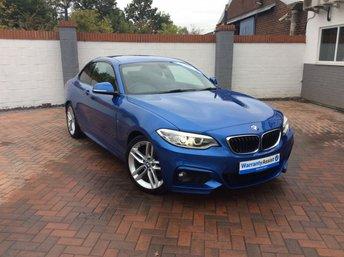 2014 BMW 2 SERIES 2.0 220D M SPORT 2d 181 BHP £13795.00