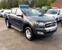 USED 2016 16 FORD RANGER 3.2 LIMITED 4X4 DCB TDCI 4d AUTO 197 BHP