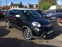USED 2014 14 FIAT 500L 1.6 MULTIJET TREKKING 5d 105 BHP LOW MILEAGE DIESEL WITH FULL DEALER SERVICE HISTORY