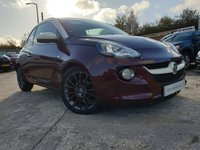"USED 2013 13 VAUXHALL ADAM 1.4 GLAM 3d 85 BHP PAN ROOF+17"" ALLOYS+AIRCON+HISTORY+CLEANCAR+ELEC+MEDIA+FSH 5STAMPS+"