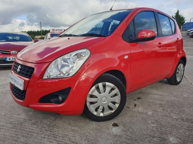 USED 2013 63 SUZUKI SPLASH 1.2 SZ3 5d 94BHP FSH+CLIMATE+30 ROAD TAX+AUX+CLEANCAR+MEDIA+ELECS+USB+AIRCON+CD+