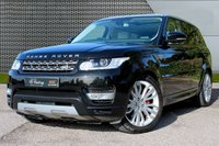 "USED 2016 16 LAND ROVER RANGE ROVER SPORT 3.0 SDV6 HSE 5d AUTO 306 BHP PAN ROOF/21"" ALLOYS/IVORY LEATHER"