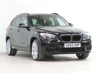 "USED 2015 65 BMW X1 2.0 xDrive20d M Sport 5d Auto 181 bhp [£5,555 OPTIONS] NAV CAM HEATSEAT 19"" P/SENSORS...."