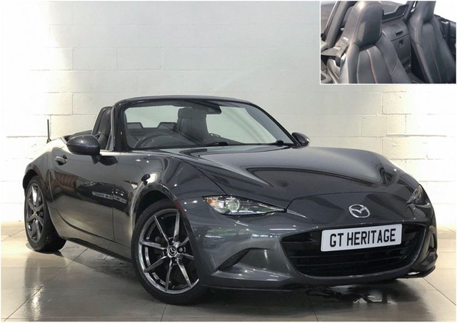 2016 16 MAZDA MX-5 SPORT NAV [HTD LEATHER]
