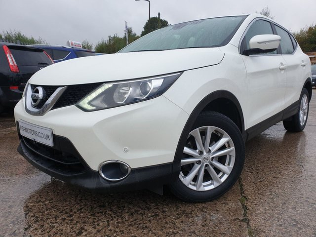 "USED 2014 NISSAN QASHQAI 1.5 DCI ACENTA SMART VISION 5d 108BHP 2KEYS+17"" ALLOY+0 ROAD TAX+CD+CLIMATE+ELEC+PARK+NEWSHAPE+HISTORY+"