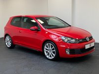 USED 2012 12 VOLKSWAGEN GOLF 2.0 GTD TDI 3d 170 BHP LEATHER INTERIOR + PRIVACY GLASS + FINANCE & PART EX WELCOME