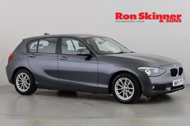 View our 2014 14 BMW 1 SERIES 1.6 116D EFFICIENTDYNAMICS BUSINESS 5d 114 BHP