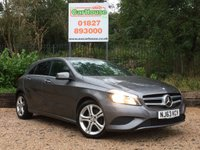 USED 2013 63 MERCEDES-BENZ A CLASS 1.5 A180 CDI BLUEEFFICIENCY SPORT 5dr Rear Camera, £20 Tax, Leather