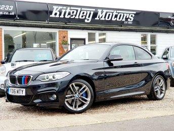 2016 BMW 2 SERIES 218I M SPORT MASSIVE SPEC!