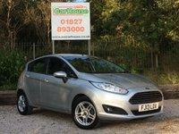 USED 2013 13 FORD FIESTA 1.25 ZETEC 5dr £30 Tax, Full Ford SH